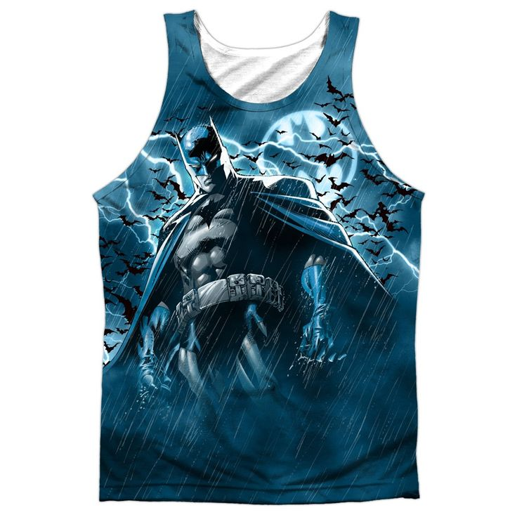 """Checkout our #LicensedGear products FREE SHIPPING + 10% OFF Coupon Code """"Official"""" Batman/stormy Knight - Adult 100% Poly Tank Topt- Shirt - Batman/stormy Knight - Adult 100% Poly Tank Topt- Shirt - Price: $24.99. Buy now at https://officiallylicensedgear.com/batman-stormy-knight-adult-100-poly-tank-topt-shirt-licensed-4283"""