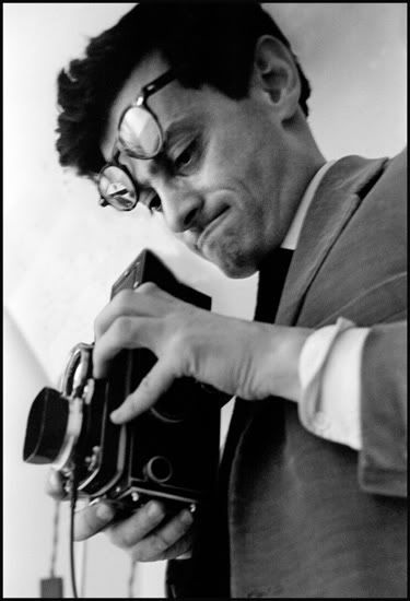Richard Avedon and his Rolleiflex.
