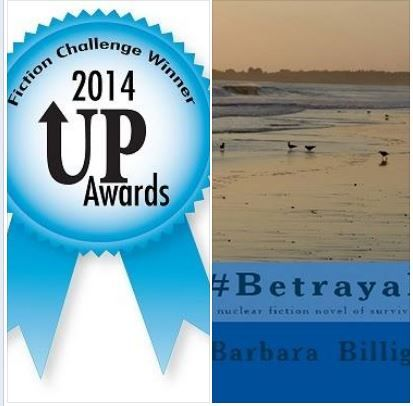 """DON'T MISS OUT! The aftermath of a nuclear disaster can be worse than the accident itself! #1 Best Seller in kindle science category! """"#Betrayal, a nuclear fiction novel of survival"""" wins in Best First Chapter category! """"Barbara Griffin Billig excels in writing where most authors fail. Her style is sleek, fast, and utterly gripping."""" ~ UP Authors http://www.amazon.com/dp/B00IX1L94Y"""