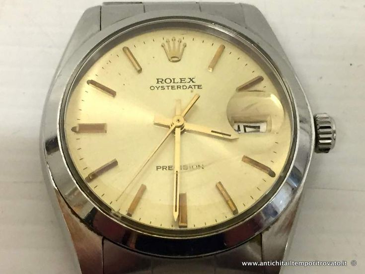 Oggettistica d`epoca - Orologi e portaorologi Rolex Oysterdate Precision 6694 - Rolex Vintage OysterDate Precision 6694 Immagine n°1