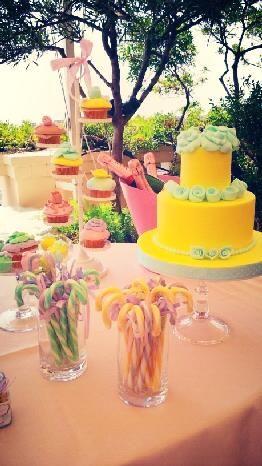 Aria di primavera per un evento colorato e gustoso
