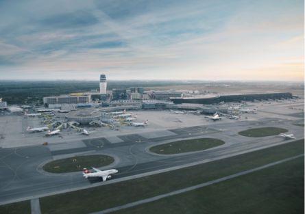 Flughafen Wien-Schwechat verzeichnet Zuwachs - http://k.ht/3u0