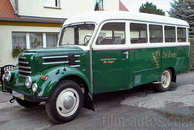Oldtimer Robur Garant 30K Bus