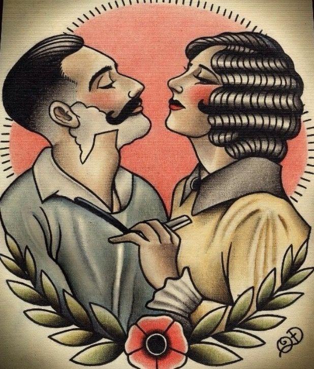 vintage barber-ella