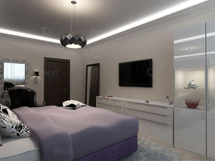 Спальня в смешанном стиле «Золотая гавань» | lifeat.su
