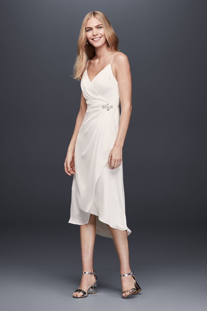Short Ruched Wedding Dresses