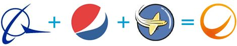 Spanair Logo, Equation