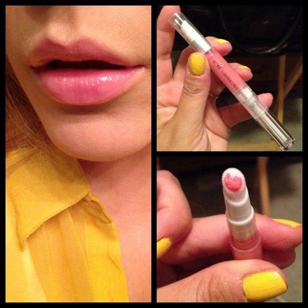 Looks good on everyone...Only one dollar for this ELF liquid lipstick in perfected pink!