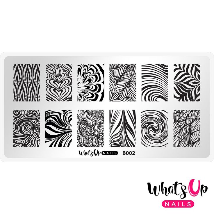 Whats Up Nails - B002 Water Marble to Perfection