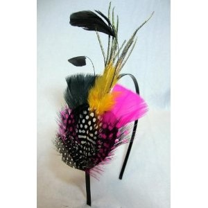 NEW Colorful Feather Fascinator Headband $9.99