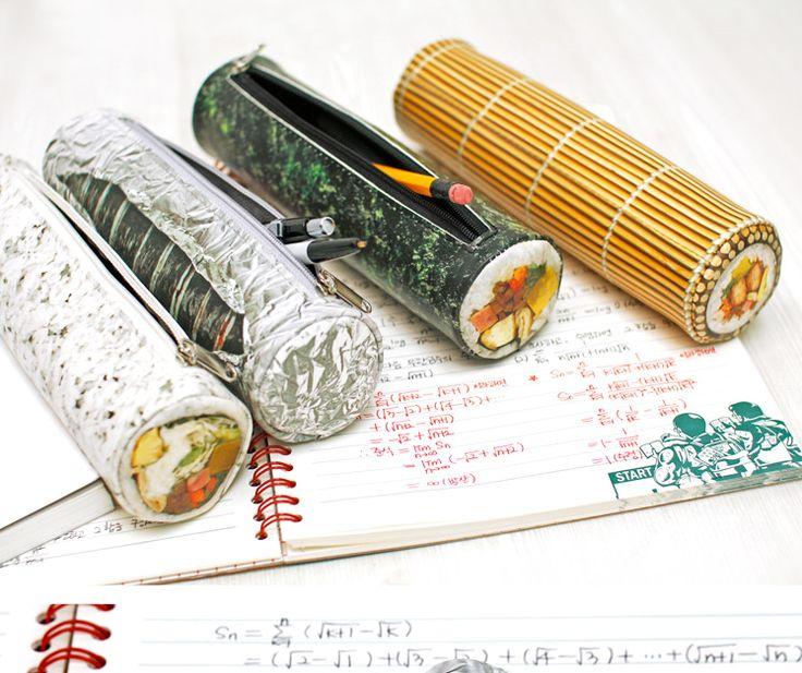 [바보사랑] 밥은 먹고 공부합시다!! /필통/파우치/펜슬케이스/디자인문구/학용품/패러디/유머/새학기/Pencil case/pouch/Design Products/School Supplies/Parody/Humor/New semester