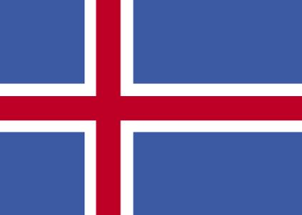 Country Flags: Iceland Flag