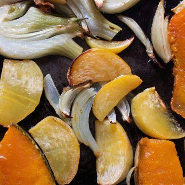 Winter Vegetable Tart - a recipe for hibernation - gluten free, picnic lunch?