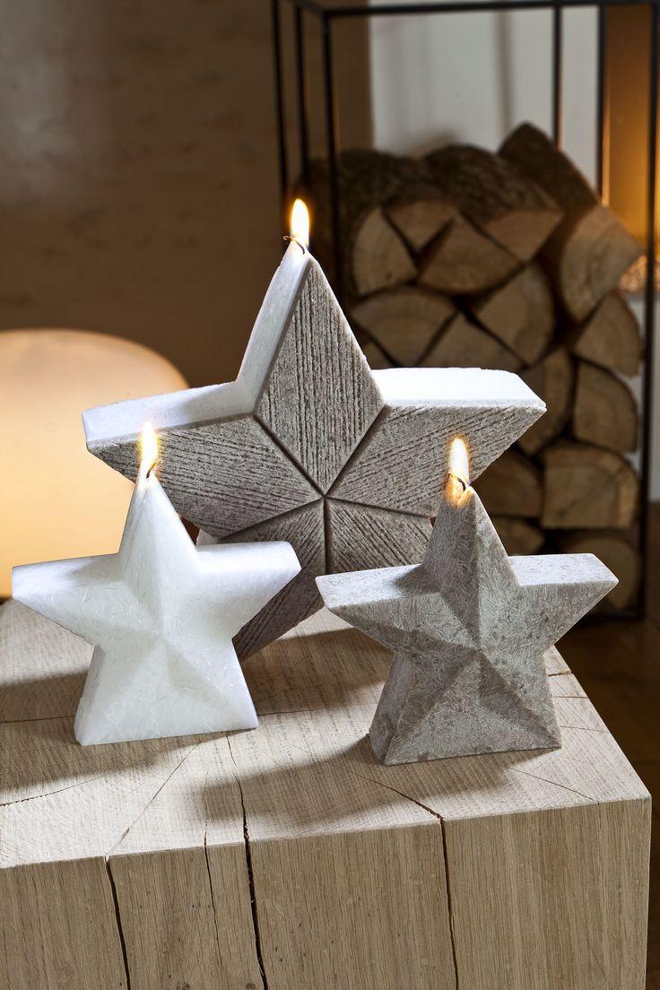 Bougies la Française - Bougies décoratives étoiles fabriquées à la main.