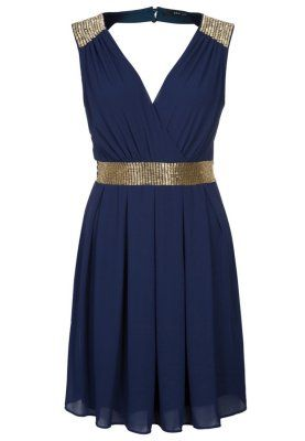IZOLA - Robe de soirée - bleu @valeriemousseau