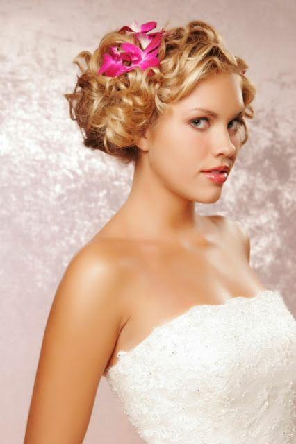 Hochzeit Brautjungfer Frisur Kurze Haare