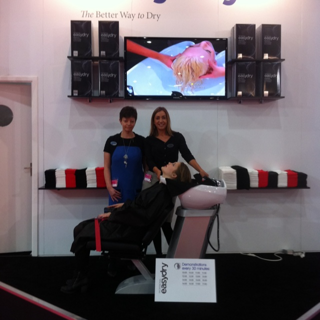 Easydry at Salon International 2012. @easydryintl @HJI @salon-Intl