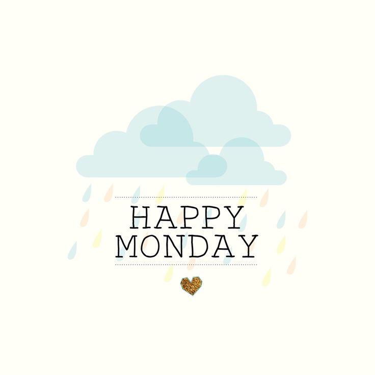Rainy Days And Mondays Quotes: Happy Monday - Minimal Monday Quote