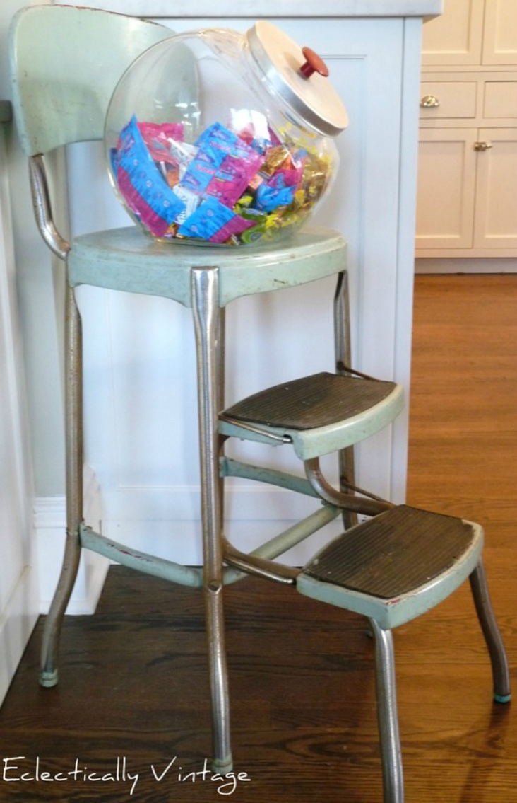 Cosco step stool chair - Vintage Cosco Step Stool