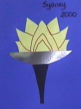 olympische fakkel- knutselen tijdens de olympische spelen