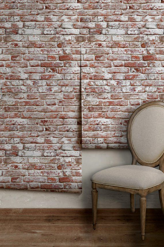 Whitewashed Antique Brick | Peel 'n Stick or Traditional ...