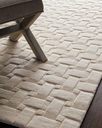 Woven Textures Rug, 5\' x 8\' at Horchow.#Horchow