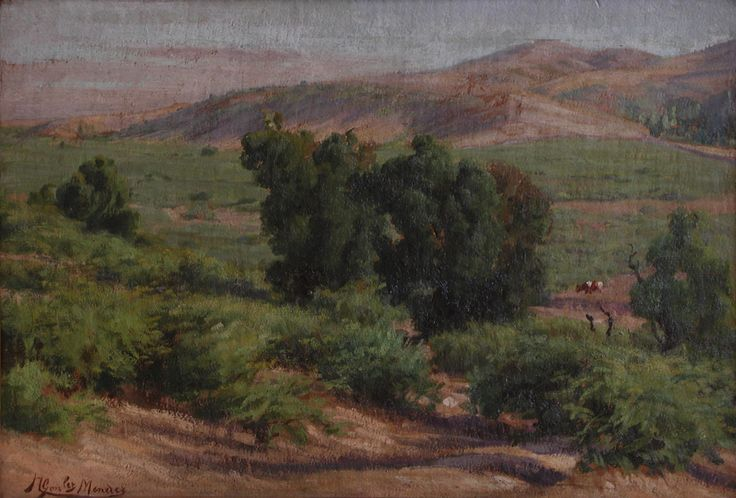 Nicanor González - Paisaje - Óleo sobre tela