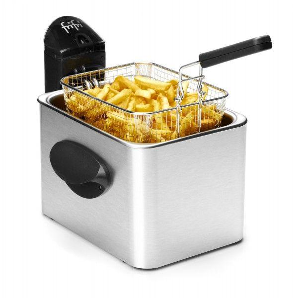 Friteuse Frifri 5828 Manteau en Aluminium insalissable, Fini les traces de doigts! La friteuse Frifri 5828 est la friteuse tendance qui illuminera vos cuisines et feras des jaloux.