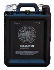 Solvatten - renar vatten med solenergi - vattenfilter