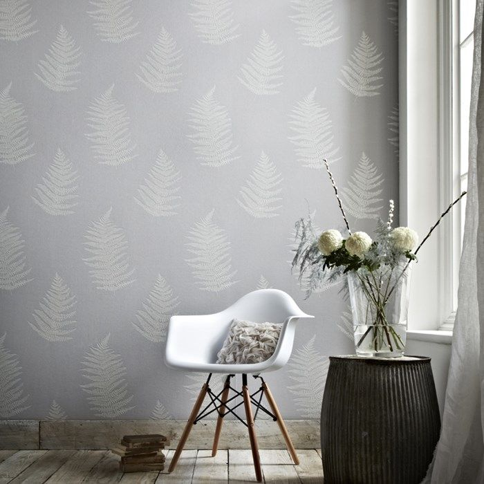 Verdant Grey Wallpaper by Graham and Brown