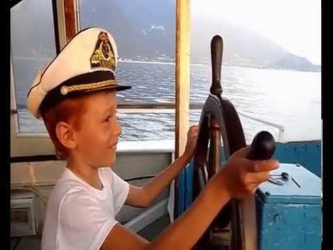 Прогулка на корабле. Морская прогулка в Абхазии.