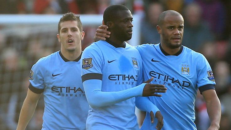 Pellegrini: Toure is happy - Football - Erupt Sports