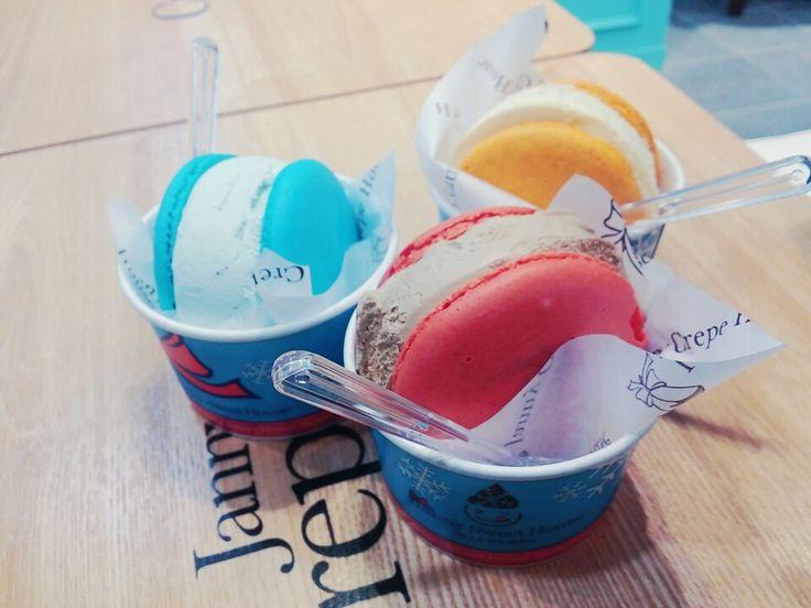 #대구#마카롱 아이스크림