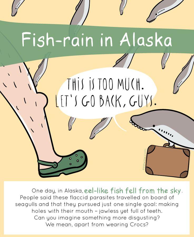 EEEW #002:  FISH-RAIN IN ALASKA