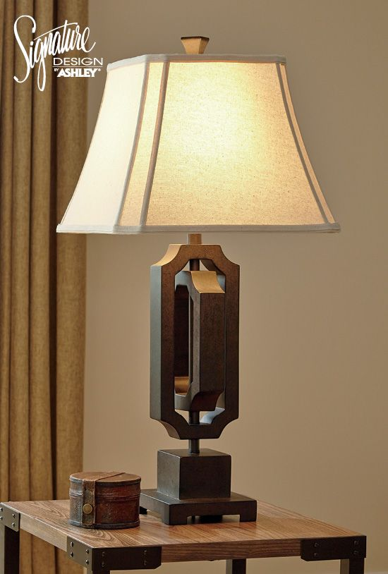 Home accent lighting ashleyfurniture see more scottey table lamp ashley furniture