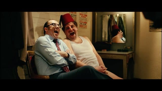 The Last Laugh.  Written and Directed by Paul Hendy and starring Damian Williams, Bob Golding and Simon Cartwright.  Three legendary British comedians, Tommy Cooper, Eric Morecambe and Bob Monkhouse sit in a dressing room discussing the secret of life, comedy and what it means to be funny.  I enjoyed this and Simon Cartwright does an AMAZING Bob Monkhouse impersonation! :-D