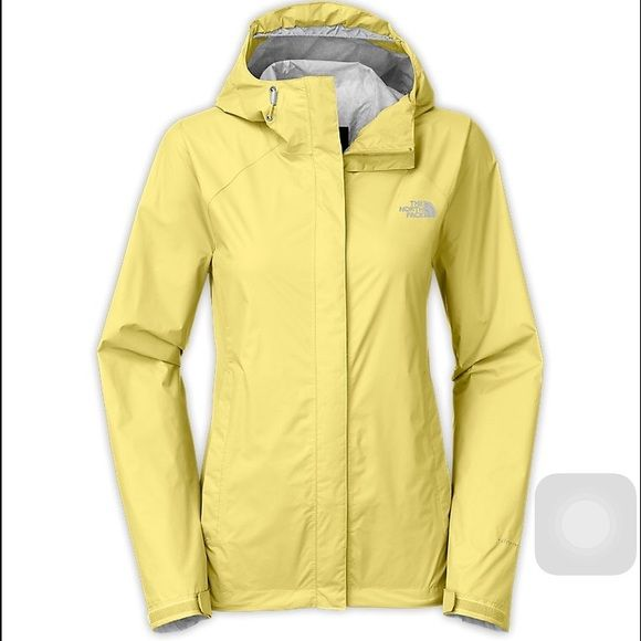 Yellow North Face Rain Jacket Great condition!!!! Just a little wear around the wrists. Open to offers North Face Jackets & Coats