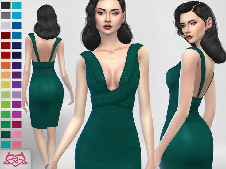 30 recolors   Your game needs to be updated Found in TSR Category  Sims 4  Female Everyday. 64 best sims 4 rockabilly pinup style images on Pinterest   Pinup