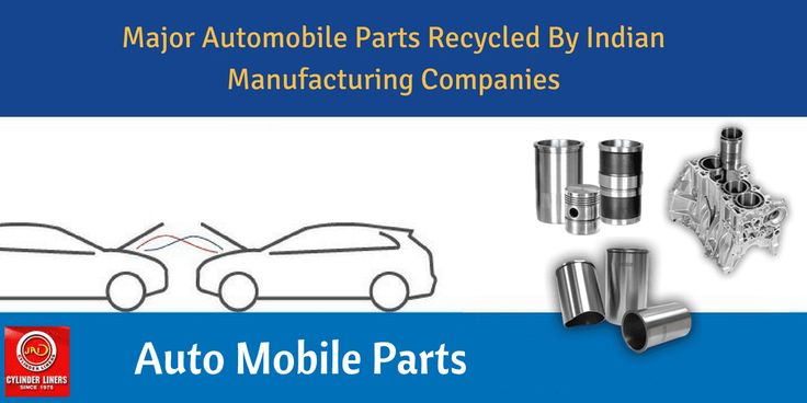 Major Automobile Parts Recycled By Indian Manufacturing Companies