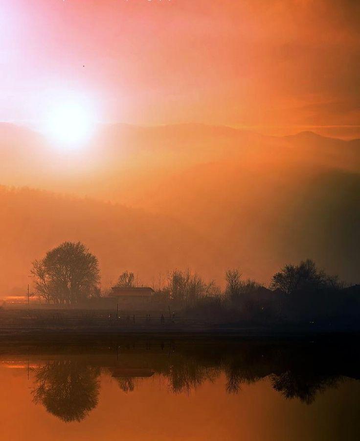 That misty sunset! by Aziz Nasuti on 500px