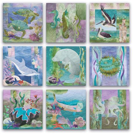 in love with this quilt...Sea Breeze, One of McKenna Ryan's most popular projects  @Alana Ann Cortes Quilting