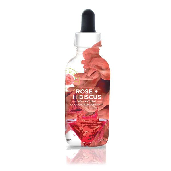 Rose & Hibiscus Flower Extract 3.4 fl oz - Make incredible cocktails, desserts and dishes! MolecularRecipes.com Store