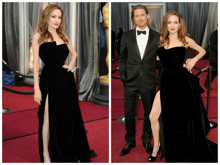 Who can forget that leg in the 2012 Academy Awards?! As much we love Angelina Jolie's Atelier Versace gown, her leg stole the show.