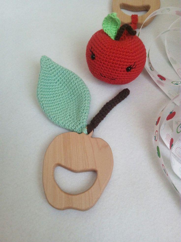 Elma dis kasiyici akcaagactan yapilmis olup tamamen dogal bebekler icin guvenle kullanilabilir.