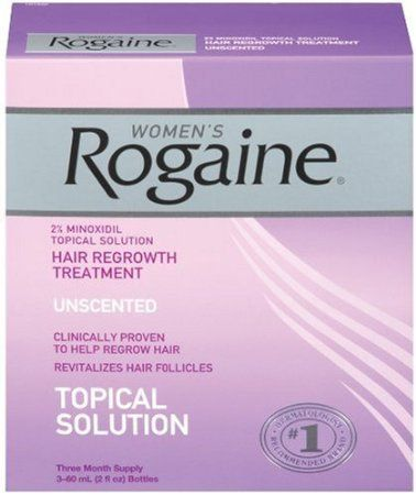Rogaine for Women Hair Regrowth Treatment, 2 Ounce (Pack of 3)  Price: $37.60  > Only FDA-approved topical solution to regrow your hair.  > #1 dermatologist-recommended brand for hair regrowth is available without a prescription.  > Rogaine also helps reverse the progression of hereditary hair loss.  > Only brand proven safe and effective for women.  > This item is not for sale in Catalina Island