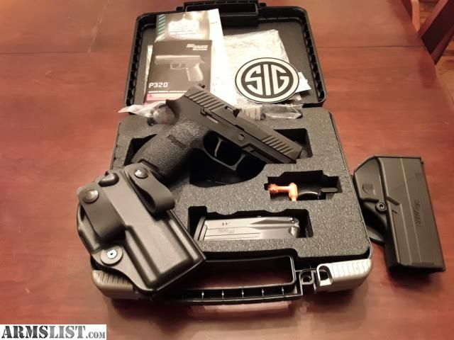 For Sale: Sig P320c 45acp w/ Apex trigger, Talon grips & Bladetech holsterLoading that magazine is a pain! Excellent loader available for your handgun Get your Magazine speedloader today! http://www.amazon.com/shops/raeind