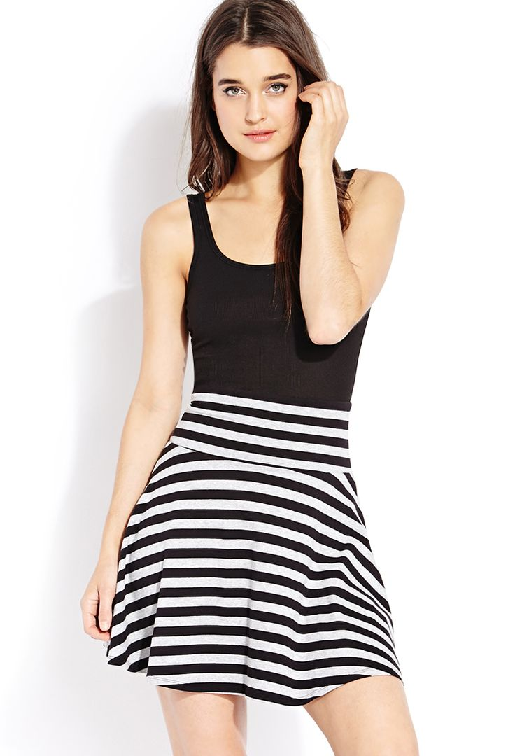 Favorite Striped Skirt | FOREVER21 - 2000090844
