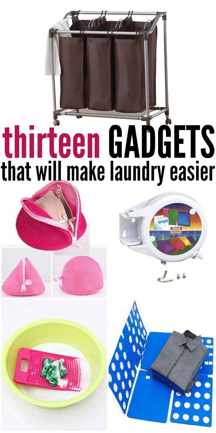 I'm always looking for gadgets to make laundry easier -One Crazy House