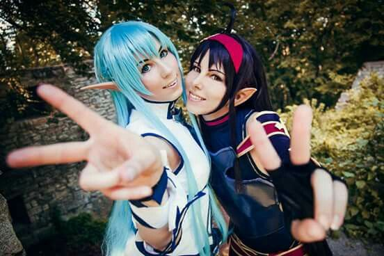 Asuna & Yuuki Cosplay - By Sword Art Online ღ