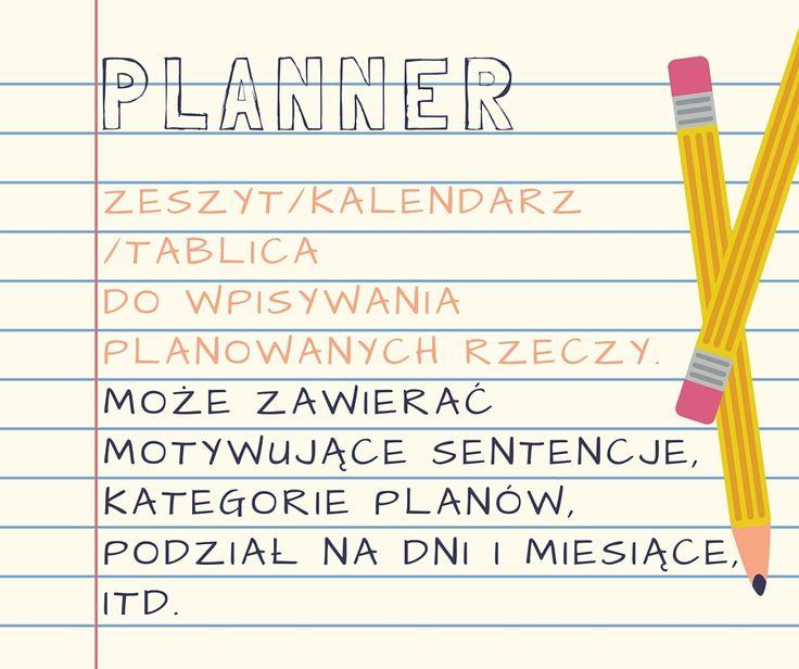 Planner to scrapowa forma, któa pozwoli Ci ogarnąć rzeczywistość :)